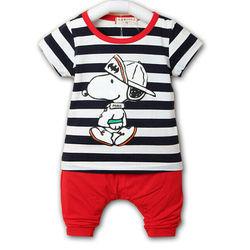Carter tay ngắn 100 cotton bbt-832b-66 bán buôn quần áo trẻ em giá sỉ