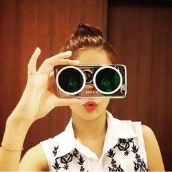 Ốp mắt kính 3d thời trang iphone 4/5/6 giá sỉ
