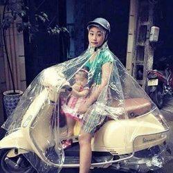 Áo mưa trong suốt sỉ 50k