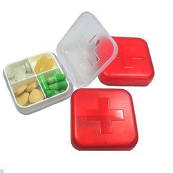 Combo 3 hộp đựng thuốc 4 ngăn