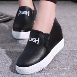 Giày bata đế bánh mì  push 2