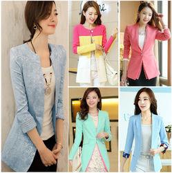 Áo khoác vest nữ dài tay dáng mới,hàng nhập,vải đẹp giá sốc