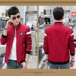 a1182 áo khoác dù phối màu hình