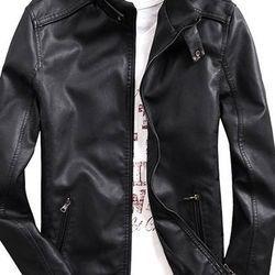 Áo khoác da nam lót lông xưởng giá sỉ