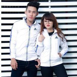 Áo khoác nam nữ dù adidas 2 lớp ttms366(m,l)