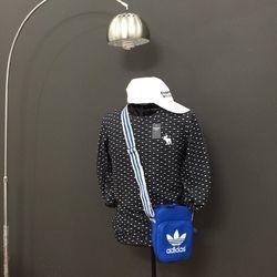 Túi adidas xanh