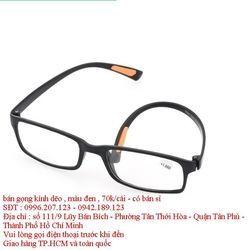 Gọng kính dẽo cho các bạn đi cắt kính cận màu đen giá sỉ