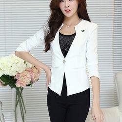 Áo vest nữ đính hột ngọc satra