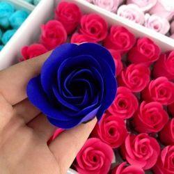 Hoa hồng sáp vĩnh cửu-bông lẻ có cuống, nhiều màu, hàng loại đẹp và dày