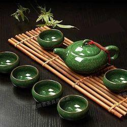 Ấm chén trà ngọc chiết giang cao cấp sang trọng
