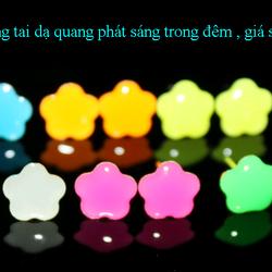 Bông tai dạ quang phát sáng trong đêm 02 giá sỉ 8k/đôi giá sỉ